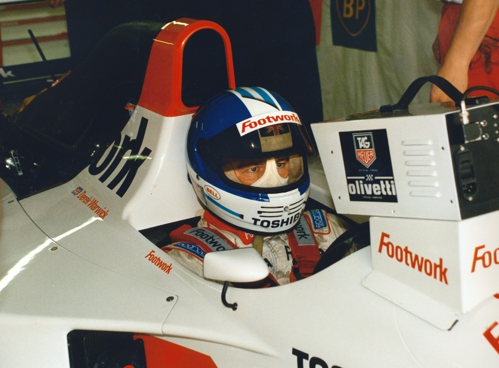 Derek Warwick_Footwork_1993